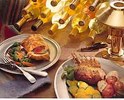 Rack of Lamb and Beef Welington Dinner