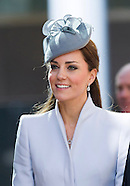 KATE & Ptince William Attend Easter Church Service 1