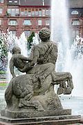 Friedrichsplatz, Mannheim, Baden-Württemberg, Deutschland