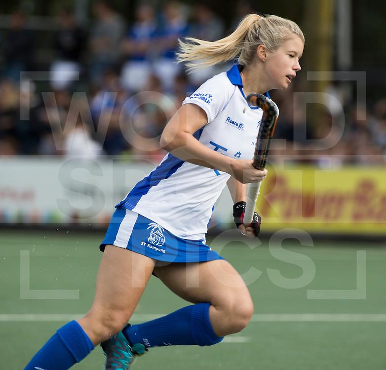 UTRECHT - HOCKEY - Sophie Bray (Kampong)  tijdens   de hoofdklasse hockeywedstrijd dames Kampong-Oranje-Rood (0-5) .COPYRIGHT KOEN SUYK
