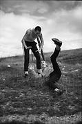 Gavin and Symond Messing Around, High Wycombe, UK, 1980s.