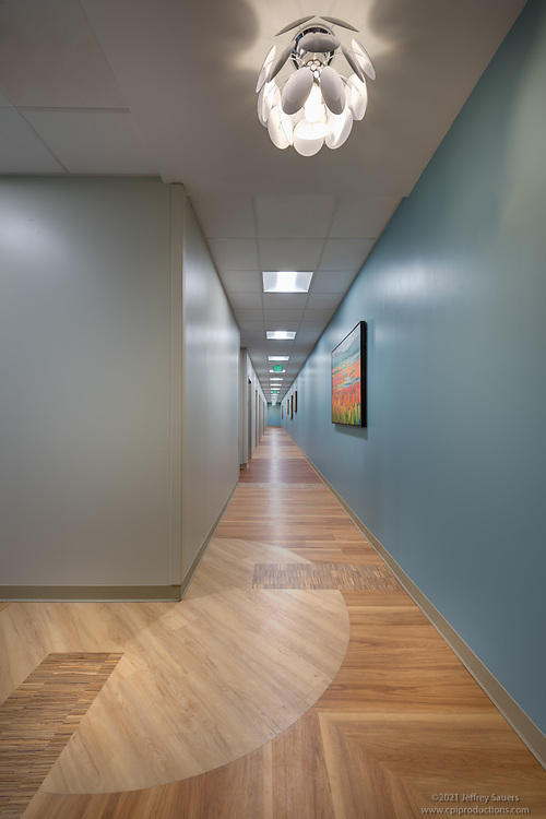 Interior Image of Carroll Hospital Center Mt. Airy Outpatient Center by Jeffrey Sauers of Commercial Photographics, Architectural Photo Artistry in Washington DC, Virginia to Florida and PA to New England