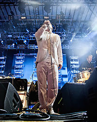 LCD Soundsystem perform at The Treasure Island Music Festival 2010