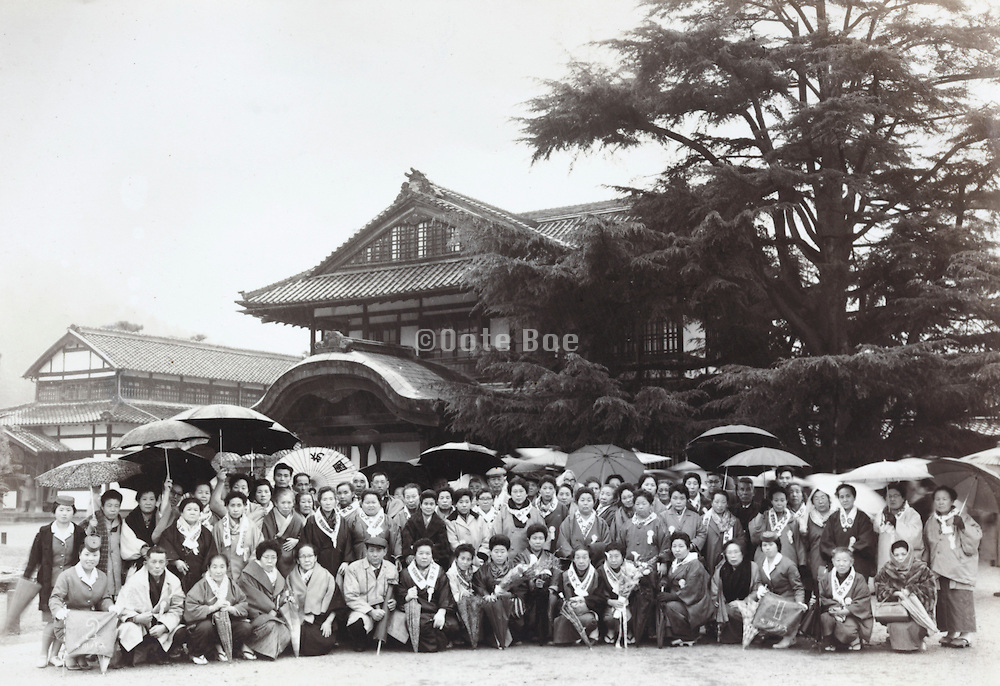group travel Japan 1950s