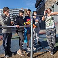 Nederland, Amsterdam, 15 maart 2017.<br /> Sfeerbeeld in de buurt August Alleb&eacute;plein voor bevolkingsgezondheids verhaal.<br /> <br /> <br /> Foto: Jean-Pierre Jans<br /> <br /> <br /> Foto: Jean-Pierre Jans