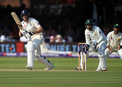 England's Jos Buttler during day three of the First NatWest Test Series match at Lord's, London.
