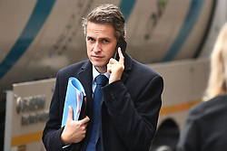 © Licensed to London News Pictures. 25/09/2019. London, UK. Education secretary GAVIN WILLIAMSON seen in Westminster after The Supreme Court in London yesterday ruled that Parliament had been suspended illegally. British Prime Minster Boris Johnson prorogued parliament just weeks before the UK is due to leave the EU on October 31st. Photo credit: Ben Cawthra/LNP
