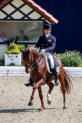 SCHMIDT Hubertus (GER), Denoix Pch<br /> Hagen - Horses and Dreams 2019 <br /> Prix St-Georges CDI 1*<br /> 24. April 2019<br /> © www.sportfotos-lafrentz.de/Stefan Lafrentz