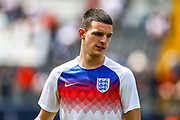England midfielder Declan Rice (West Ham) during the UEFA Nations League 3rd place play-off match between Switzerland and England at Estadio D. Afonso Henriques, Guimaraes, Portugal on 9 June 2019.