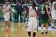 Avellino 30/01/2017 - Lega Basket Serie A - Campionato 2016/2017<br /> Sidigas Avellino - Emporio Armani Milano<br /> nella foto: Rakim Sanders<br /> foto Ciamillo