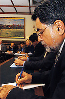 LONDON, 9 Nov. 2005...4.30pm ? 6.00pm ? Transforming humanitarian disaster into opportunities for peace...Professor Nazir Shawl, Executive Director, Justice Foundation Kashmir Centre...Panelists in the background: Victoria Schofield, journalist of author of 'Kashmir in conflict', Ali Dayan Hasan, Pakistan Researcher, Human Rights Watch, Barrister Majid Tramboo, Executive Director, International Council for Human Rights Kashmir Centre and chair Paul Rowen MP.....The Justice Foundation Kashmir Centre London together with the All-Party Parliamentary Group (APPG) on Kashmir organised a meeting in the House of Commons entitled ?Kashmir After the Earthquake ? Rebuilding Together.?