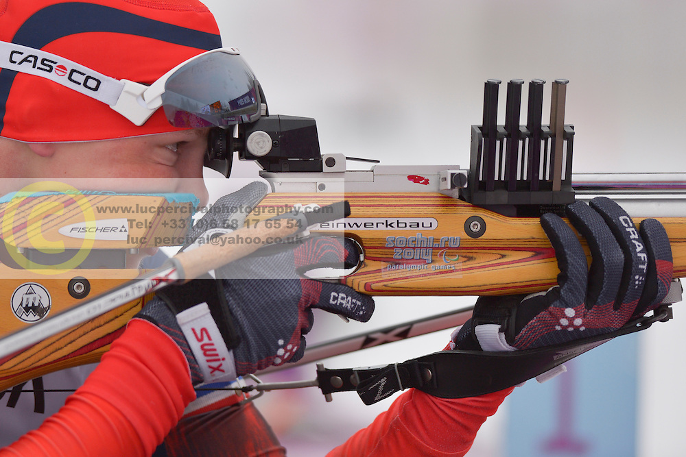 Grigory Murygin, Biathlon at the 2014 Sochi Winter Paralympic Games, Russia