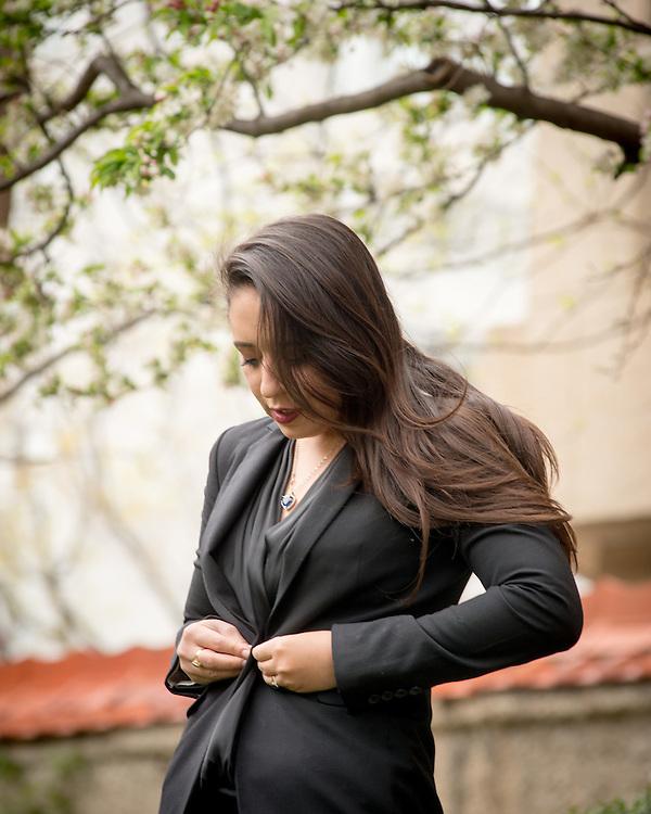 March 31, 2016 - Washington DC - Fernanda Lopez Aguilar, a Honduran citizen, poses for portraits in DC.<br /> <br /> Photo &copy; Susana Raab 2016