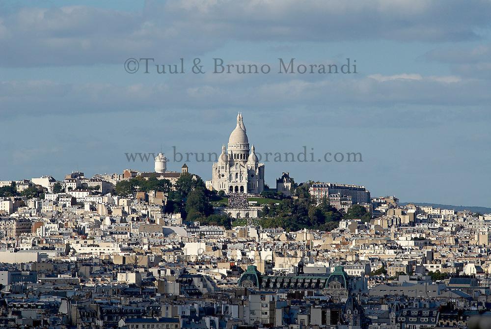 France, Paris (75), la basilique du Sacré Coeur et la butte Montmartre // France, Paris, Montmartre and Sacre Coeur Basilique