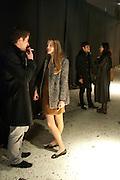 HUGO DESPOUX; LEONORE DICKER, Fired Up, Exhibition of work by Joe Clark, Lauren Cotton, Rory McCartney, David Jones and Farid Rasulov. Gazelli Art House. Wakefield st. London. WC1. 10 February 2011. -DO NOT ARCHIVE-© Copyright Photograph by Dafydd Jones. 248 Clapham Rd. London SW9 0PZ. Tel 0207 820 0771. www.dafjones.com.