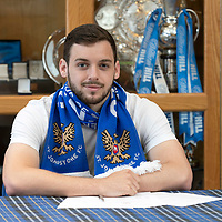 St Johnstone Sign Drey Wright