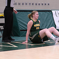 2nd year forward Alexi Rowden (15) of the Regina Cougars in action during the home game on November  5 at Centre for Kinesiology, Health and Sport. Credit: Arthur Ward/Arthur Images