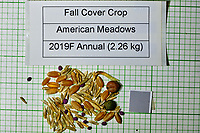 Fall Cover Crop seeds from American Meadows. Image taken with a Fuji X-H1 camera and 80 mm f/2.8 macro lens + 1.4x teleconverter