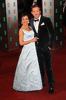 Helen McCrory; Damian Lewis, British Academy Film Awards BAFTA, Royal Opera House Covent Garden, London UK, 10 February 2013, (Photo by Richard Goldschmidt)