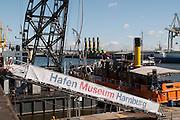 Hafenmuseum Hamburg, Hamburg, Deutschland.|.harbour museum Hamburg, Germany.