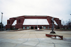 14 December 2008: Outside Redbird Arena prior to  a game where the  Illinois State University Redbirds extended their record to 9-0 with a 76-70 win over the Eagles of Morehead State on Doug Collins Court inside Redbird Arena on the campus of Illinois State University in Normal Illinois