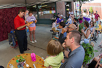 Larry Frates Creative Arts Magic Show downtown Laconia July 12, 2012.