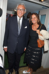 SIR DAVID & LADY TANG at a party to celebrate the publication on 'Let's Eat: Recipes From My Kitchen Notebook' by Tom Parker Bowles held at Selfridge's Rooftop. Selfridge's, Oxford Street, London on 27th June 2012.