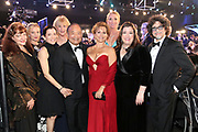 SAG-AFTRA National Board 2018: Liz Zazzi, National VP, NY, Samantha Mathis, National VP, Actors/Performers, Ilyssa Fradin, National VP, Mid Sized Locals, Suzanne Burkhead, National VP, Small Locals, Clyde Kusatsu, National VP, Los Angeles, Gabrielle Carteris, President, Jane Austin, Secretary/Treasurer, Rebecca Damon, Executive VP, and Dave Navarro,National VP Sound Recordings