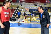 DESCRIZIONE : Tbilisi City Hall Cup - Allenamento<br /> GIOCATORE : Nicol&ograve; Melli Simone Pianigiani<br /> CATEGORIA : nazionale maschile senior A <br /> GARA : Tbilisi City Hall Cup - Allenamento <br /> DATA : 13/08/2015<br /> AUTORE : Agenzia Ciamillo-Castoria