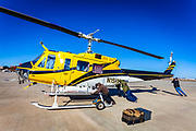 Bell 205 A-1, owned and operated by Helicopter Express, Atlanta.