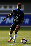 Kinglsey Coman during the training of the team of France before the FIFA World Cup qualifying football match between Bulgaria and France, on October 2, 2017 in Clairfontaine, France - Photo Benjamin Cremel / ProSportsImages / DPPI