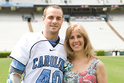 19 April 2008: North Carolina men's lacrosse Rob Driscoll before a 13-9 win over the Hofstra Pride at Kenan Stadium in Chapel Hill, NC.