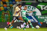 Michael Uchebo / Oriol Rosell - 14.01.2015 - Sporting / Boavista -Coupe de la ligue du Portugal-<br /> Photo : Carlos Rodrigues / Icon Sport