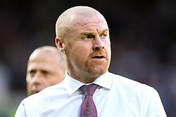 Burnley manager Sean Dyche - Mandatory by-line: Robbie Stephenson/JMP - 02/08/2018 - FOOTBALL - Turf Moor - Burnley, England - Burnley v Aberdeen - UEFA Europa League Second Qualifier, 2nd Leg