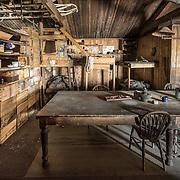 Scott's Cape Evans Hut #2, Cherry's and Bower's bunks on left