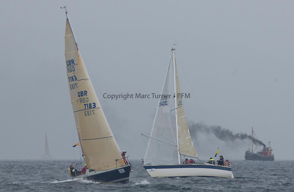 Silvers Marine Scottish Series 2017<br /> Tarbert Loch Fyne - Sailing<br /> <br /> GBR7183, Ravels Bolero, Kenny MacDonald, CCC, Bolero<br /> <br /> Credit: Marc Turner / CCC