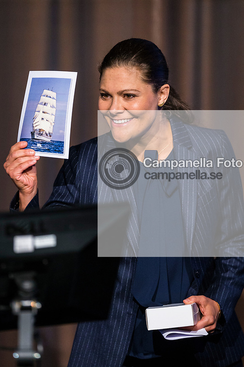 STOCKHOLM, SWEDEN - MARCH 06: Princess Victoria of Sweden attends the inauguration of the 2017 Baltic Sea Future congress held at the Stockholm International Fairs & Congress Centre on March 6, 2017 in Stockholm, Sweden. (Photo by MICHAEL CAMPANELLA/Getty Images)