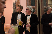 TRISTRAM HUNT; SIR PETER STOTHARD; RA Annual dinner 2018. Piccadilly, 5 June 2018.