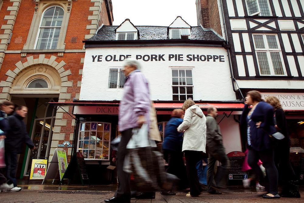 Ye Olde Pork Pie Shop, Melton Mowbray