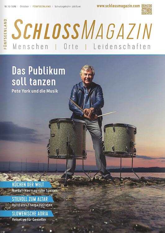 Cover-Shootings für das Schlossmagazin im Fünf-Seen-Land