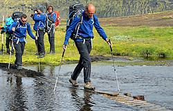 09-07-2014 ISL: Iceland Diabetes Challenge Dag 5, Emstrur<br /> Van Alftavatn naar Emstrur / Wim in 't Veld