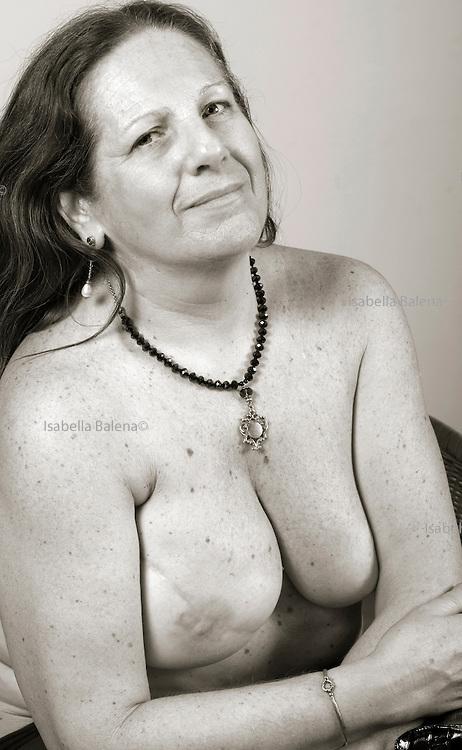 """Piera Maria, portrait from a book """"A seno nudo"""" by Cristina Garusi"""
