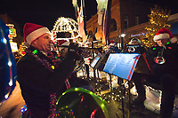 Traverse City Light Parade and Santa Arrival in Downtown Traverse City on Saturday November 17, 2018.