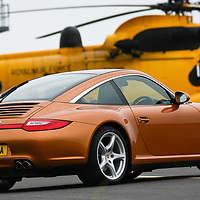 Porsche 997 Targa 4S (2009) at Pembrey Airport, 27th September 2009