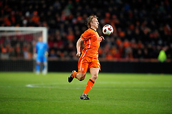 09-02-2011 VOETBAL: NEDERLAND - OOSTENRIJK: EINDHOVEN<br /> Netherlands in a friendly match with Austria won 3-1 / Dirk Kuyt NED<br /> ©2011-WWW.FOTOHOOGENDOORN.NL