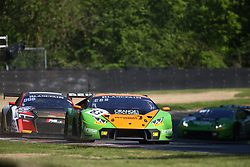 May 6, 2018 - Brands Hatch, Grande Bretagne - 63 GRT GRASSER RACING TEAM (AUT) LAMBORGHINI HURACAN GT3 MIRKO BORTOLOTTI (ITA) CHRISTIAN ENGELHART  (Credit Image: © Panoramic via ZUMA Press)
