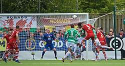 RHOSYMEDRE, WALES - Sunday, May 5, 2019: Connah's Quay Nomads's George Horan during the FAW JD Welsh Cup Final between Connah's Quay Nomads FC and The New Saints FC at The Rock. (Pic by David Rawcliffe/Propaganda)