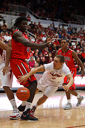 Feb 4, 2012; Stanford CA, USA;  during the first half at Maples Pavilion.  Mandatory Credit: Jason O. Watson-US PRESSWIRE