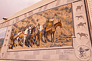 Mural, Lone Pine, California USA