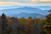 Autumn colors in Shenandoah National Park, Virginia